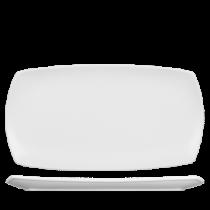 Churchill Art de Cuisine Menu Porcelain Large Rectangular Plate 35.5 x 19cm