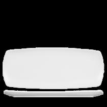 Churchill Art de Cuisine Menu Porcelain Medium Rectangular Plate 35.5 x 14cm