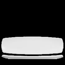 Churchill Art de Cuisine Menu Porcelain Small Rectangular Plate 35.5 x 10cm