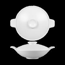 Churchill Art de Cuisine Menu Porcelain Large Lidded Bowl 112.4cl 40oz