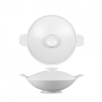Churchill Art de Cuisine Menu Porcelain Medium Lidded Bowl 56.8cl 20oz
