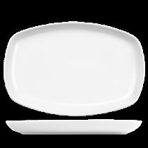 Churchill Art de Cuisine Menu Porcelain Small Rectangular Platter 24.5 x 16cm