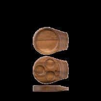 Art de Cuisine Small Single Handled Wooden Tray