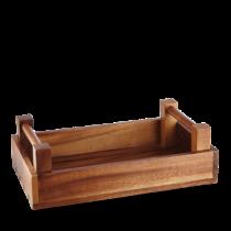 Art de Cuisine Rectangular Wooden Crate