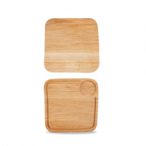 Art de Cuisine Medium Square Oak Board 25.5 x 25.5cm