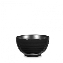 Churchill Art de Cuisine Black Glaze Ripple Bowl 118cl 40oz