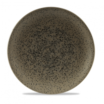 Churchill Art de Cuisine Caldera Flint Grey Coupe Plate 27cm
