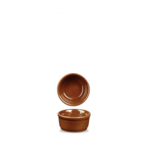Churchill Art de Cuisine Rustics Simmer Terracotta Dip Pot/Ramekin 6.5cm