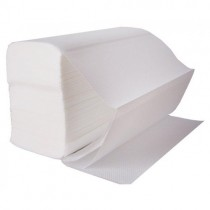 Z Fold White Luxury Hand Towels 2ply