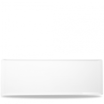 Churchill Alchemy Rectangular White Melamine Buffet Tray 58 x 20cm