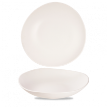 Churchill Alchemy Trace Melamine White Bowl