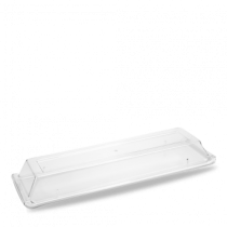 These Churchill Alchemy Polycarbonate Rectangular Buffet Covers are perfect for hospitality, working lunches and conference catering to keep the food looking and tasting fresh.
