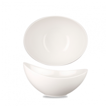 Churchill Alchemy Melamine Moonstone White Buffet Bowl 129.9cl / 45.7oz