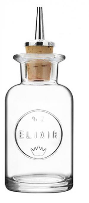 Round Elixir No.2 Dash Bottles 3.5oz / 10cl
