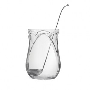 Tulip Punchbowl & Metal Spoon 140.5oz / 400cl
