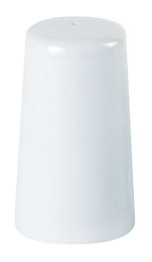 Porcelite White Tall Salt Pourer 10cm