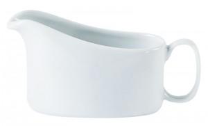 Porcelite White Traditional Sauce Boat 20cl/7oz