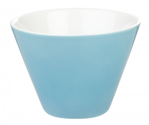 Porcelite Blue Conic Bowl 10cm