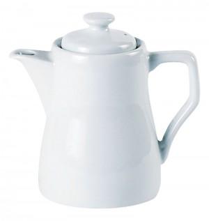 Porcelite White Traditional Style Coffee Pot 31cl /11oz