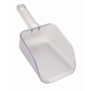 Plastic Ice Scoop Clear 32oz