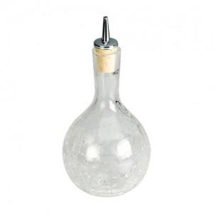 Dash Bottle Crackle Glass Drizzler 33cl / 11.5oz