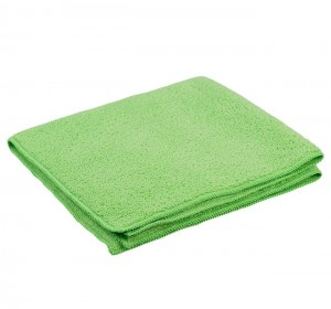 Optima General Purpose Microfibre Cloths Green