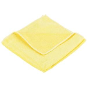 Optima General Purpose Microfibre Cloths Yellow