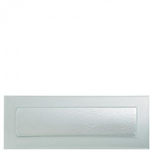 Gobi Rectangular Frost Edge Plate 49 x 18cm