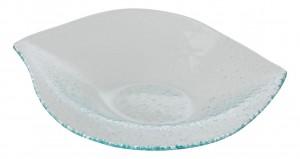 Glass Leaf Plate 26.5 x 32.2cm