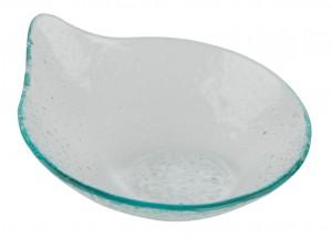 Glass Tear Drop Plate 19.5cm