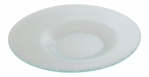 Round Plate with Off Centre Well 30cm