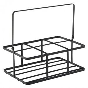 Black Metal Crate  (16 x 11cm)