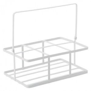 White Metal Crate  (16 x 11cm)