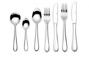 Elia Glacier 18/10 Serving Forks