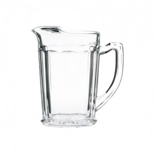 Ice Lipped Glass Jug 1.1Ltr