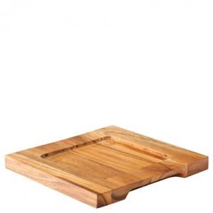 Square Wood Board 19cm