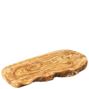Olive Wood Board with Juice Groove 35 x 17cm
