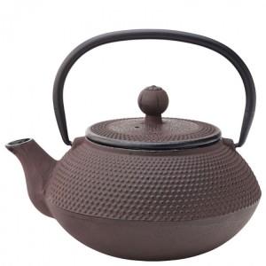 Mandarin Rustic Cast Iron Teapot with Infuser 67cl / 24oz