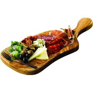 Olive Wood Serving Paddle Board 44 x 20cm