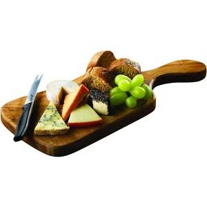 Olive Wood Serving Paddle Board 38 x 18cm