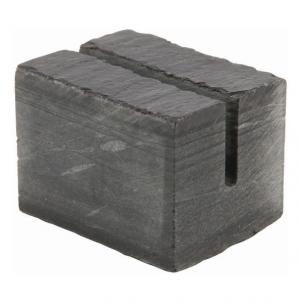 Genware Slate Cube Sign Holder 3 x 2.5cm