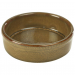 Terra Stoneware Tapas Dish Rustic Brown 13cm