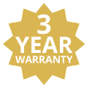 3 Year Warranty On This Product